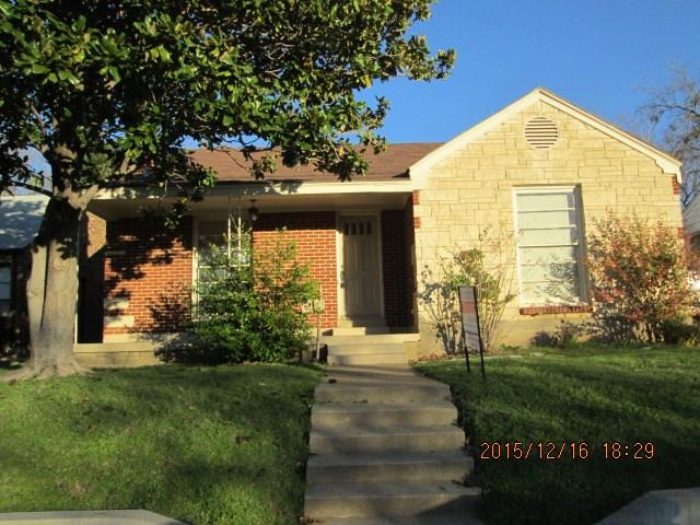Rental Homes for Rent, ListingId:36625777, location: 2529 Forest Park Boulevard Ft Worth 76110