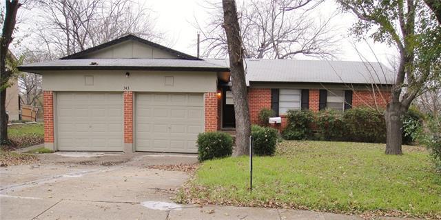 Rental Homes for Rent, ListingId:36715214, location: 343 Saffron Circle Mesquite 75149