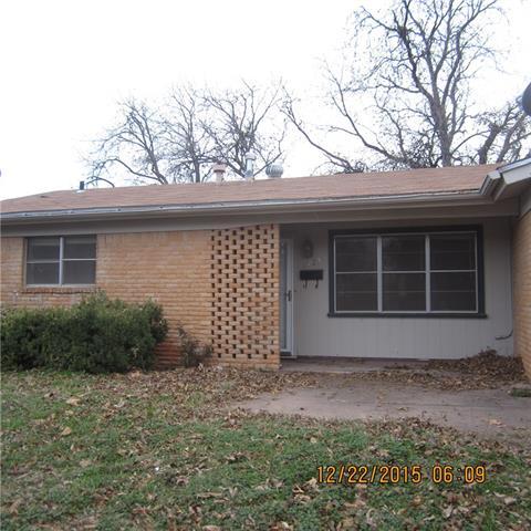 Rental Homes for Rent, ListingId:36645167, location: 3725 N 10th Street Abilene 79603