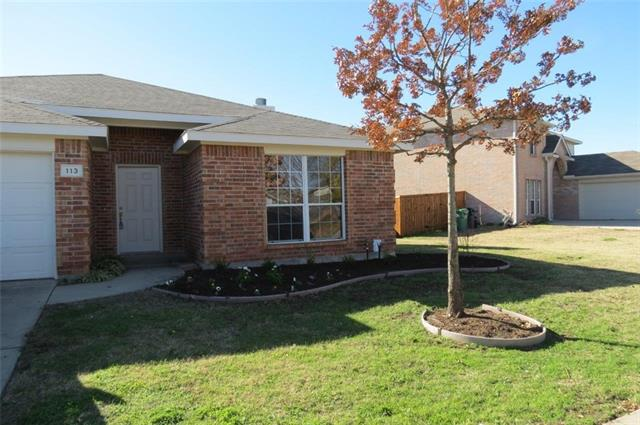 Rental Homes for Rent, ListingId:36945294, location: 113 Tripp Trail Denton 76207
