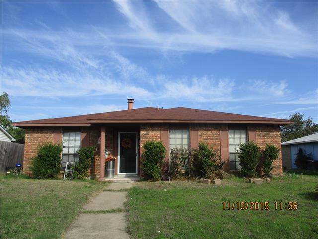 Rental Homes for Rent, ListingId:36655860, location: 2110 Stockton Trail Grand Prairie 75052