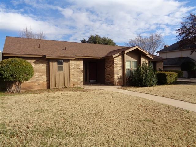 Rental Homes for Rent, ListingId:36715095, location: 33 Pebble Beach Street Abilene 79606