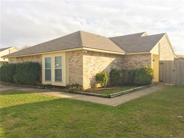 Rental Homes for Rent, ListingId:36818195, location: 671 Stonewall Drive Grand Prairie 75052