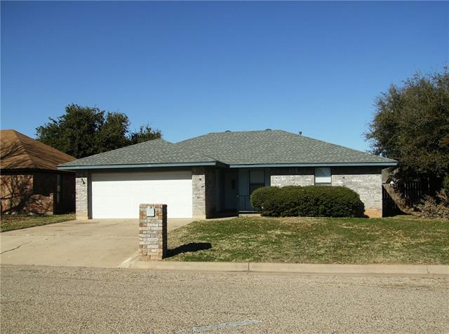 Rental Homes for Rent, ListingId:36834389, location: 1218 Seamans Way Abilene 79602