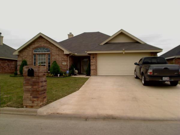 Rental Homes for Rent, ListingId:36851930, location: 3242 Valley Forge Road Abilene 79601