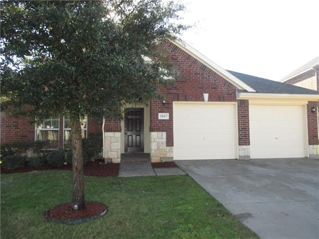 Rental Homes for Rent, ListingId:36919852, location: 2867 S Serrano Grand Prairie 75054