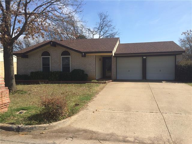 Rental Homes for Rent, ListingId:36919954, location: 1403 Birmingham Drive Arlington 76012