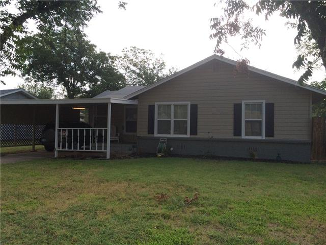Rental Homes for Rent, ListingId:36945155, location: 909 Shelton Street Abilene 79603