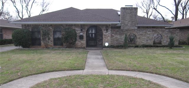 Rental Homes for Rent, ListingId:36949591, location: 1900 Anna Drive Irving 75061