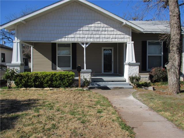 Rental Homes for Rent, ListingId:36979397, location: 718 Peach Street Abilene 79602