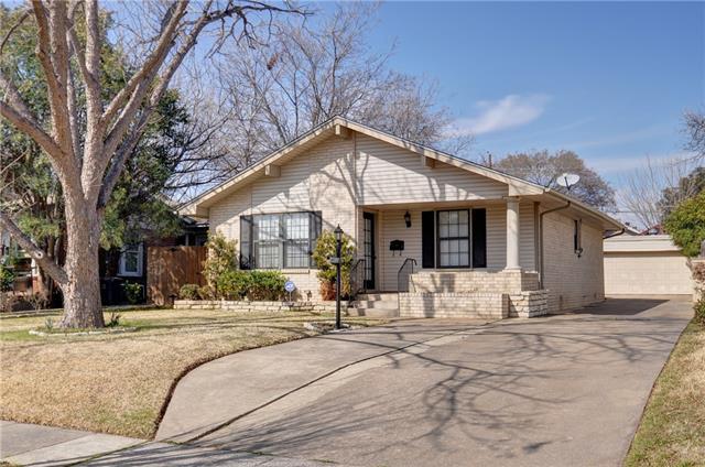 Rental Homes for Rent, ListingId:37060264, location: 4932 Pershing Avenue Ft Worth 76107
