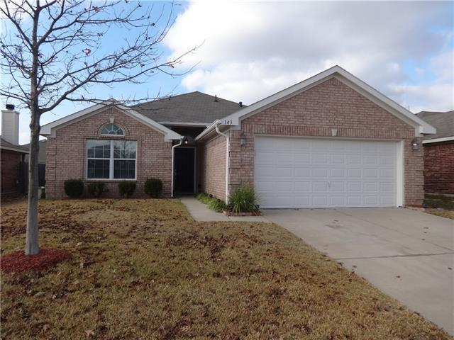 Rental Homes for Rent, ListingId:37095458, location: 143 Old Settlers Trail Waxahachie 75167