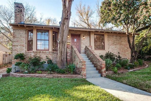 Rental Homes for Rent, ListingId:37095471, location: 2844 Claudette Dallas 75211