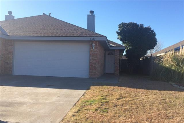 Rental Homes for Rent, ListingId:37068508, location: 2141 Patriot Commons Road Abilene 79601