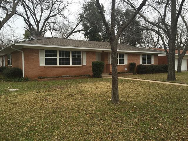 Rental Homes for Rent, ListingId:37085047, location: 1609 Camellia Drive Arlington 76013