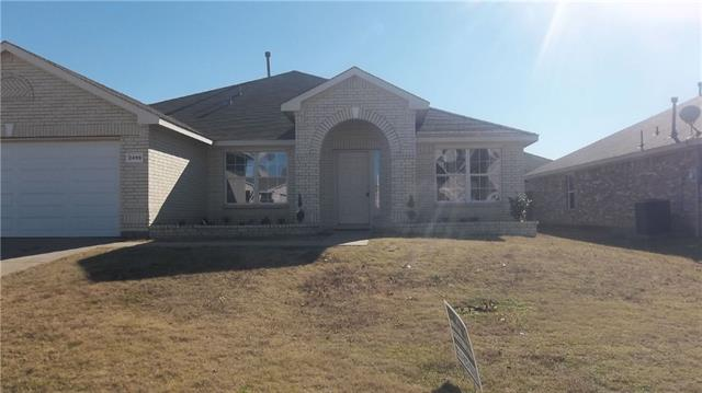 Rental Homes for Rent, ListingId:37133217, location: 2459 Frontier Drive Grand Prairie 75052