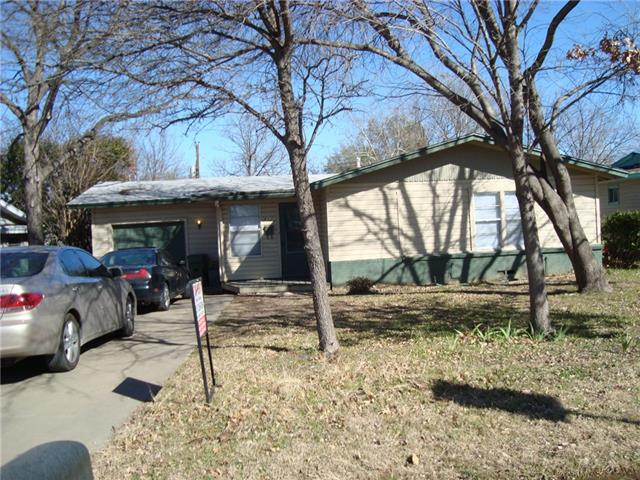 Rental Homes for Rent, ListingId:37132941, location: 417 Browning Drive Arlington 76010
