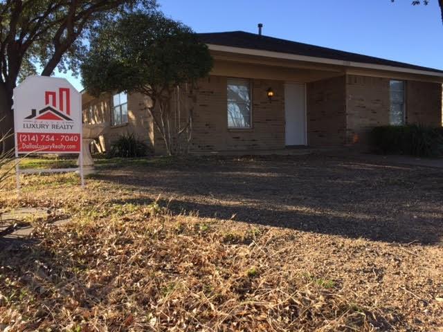 Rental Homes for Rent, ListingId:37274244, location: 11103 Odette Avenue Dallas 75228
