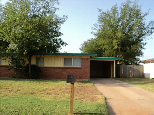 Rental Homes for Rent, ListingId:37225073, location: 4409 N 9th Street Abilene 79603
