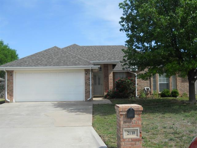 Rental Homes for Rent, ListingId:37235073, location: 2110 Patriot Commons Road Abilene 79601