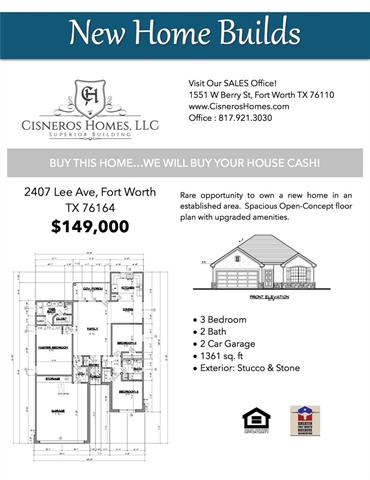 Photo of 2407 Lee Avenue  Fort Worth  TX