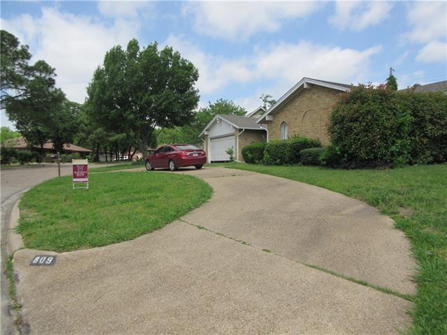 Photo of 809 Stratford Drive  Bedford  TX