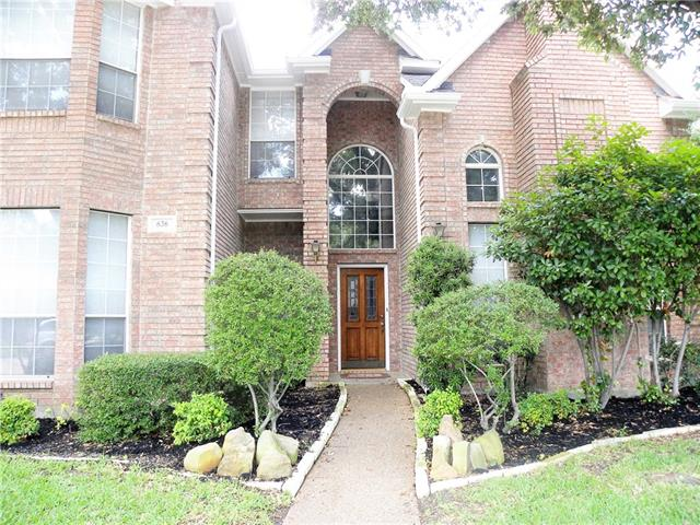 Photo of 636 Allen Road  Coppell  TX