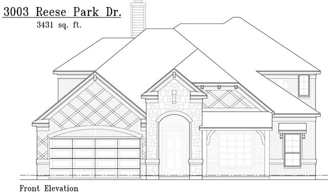 Photo of 3003 Reese Park Drive  Mansfield  TX