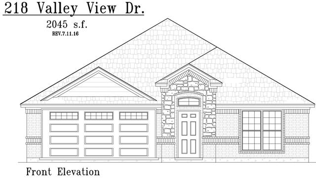 Photo of 218 Valley View Drive  Waxahachie  TX