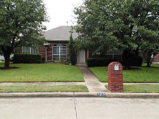 Photo of 103 Marquette Street  Forney  TX