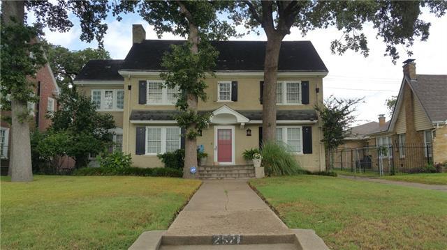 Photo of 2521 South Boulevard  Dallas  TX