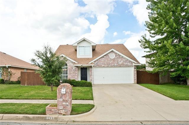 Photo of 8433 Odell Street  North Richland Hills  TX