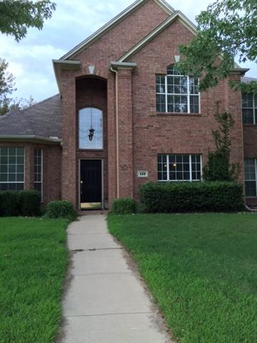 Photo of 409 Vasey Oak Drive  Keller  TX