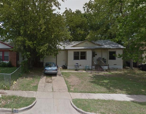 Photo of 3409 Hatcher Street  Fort Worth  TX