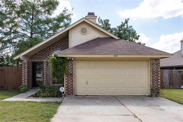 Photo of 213 N Bugle Drive  Fort Worth  TX