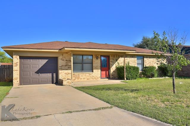 Photo of 3757 Purdue Lane  Abilene  TX