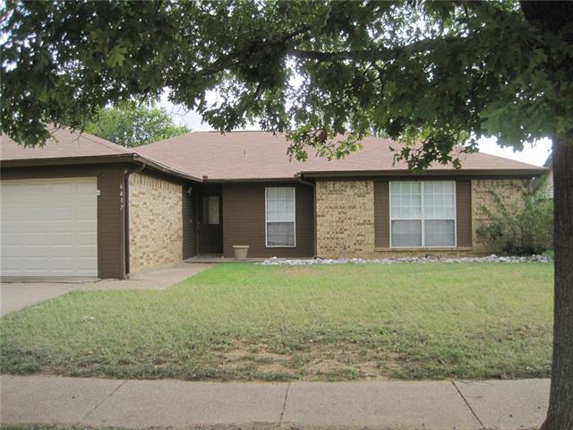 Photo of 6417 Kelly Elliott Road  Arlington  TX