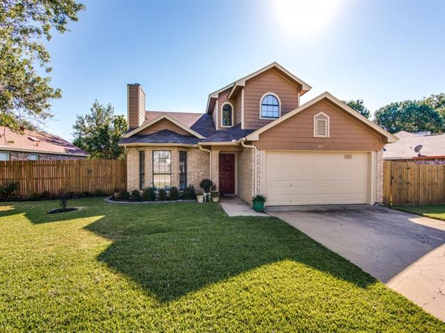Photo of 228 Rodeo Drive  Keller  TX