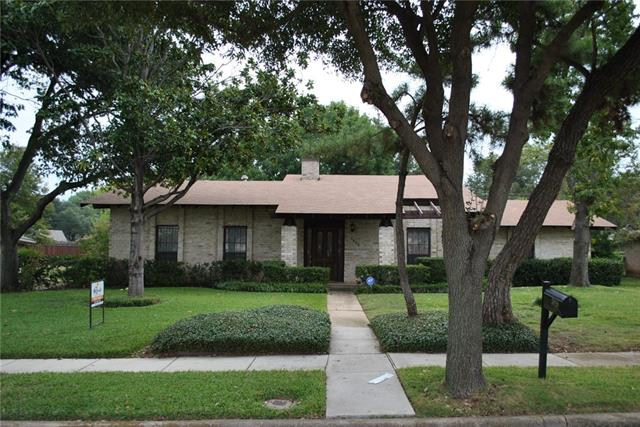 Photo of 3828 Blue Trace Lane  Farmers Branch  TX