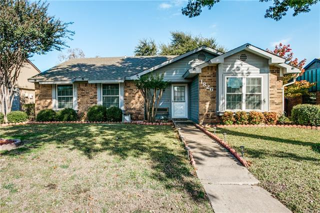 Photo of 1826 Alonsdale Drive  Garland  TX