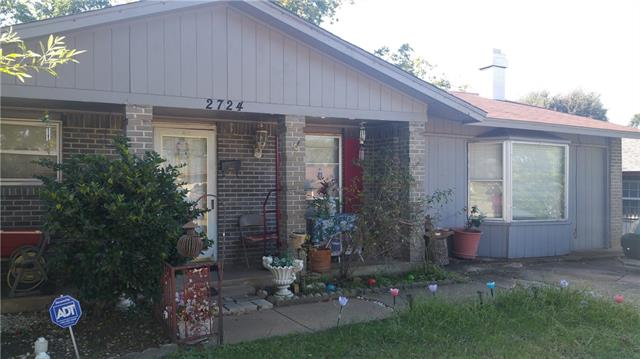 Photo of 2724 Winslow Street  Irving  TX