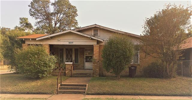 Photo of 3640 Avenue K  Fort Worth  TX