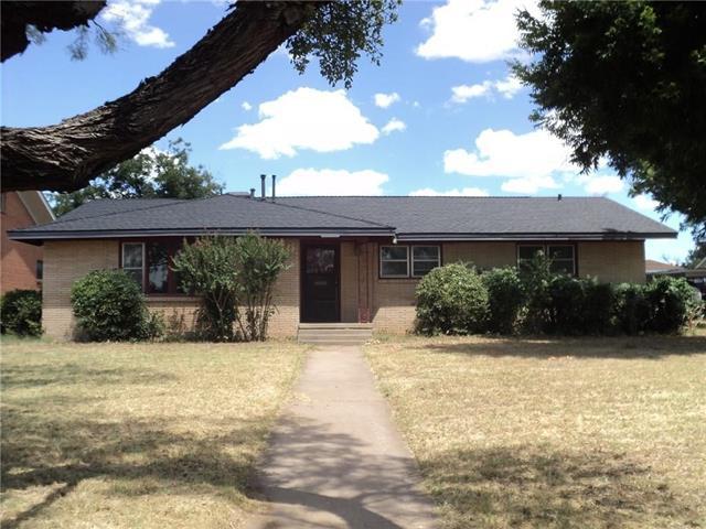 Photo of 1349 Cedar Crest Drive  Abilene  TX
