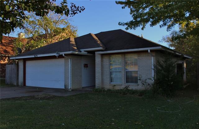 Photo of 829 Hill Street  Grand Prairie  TX
