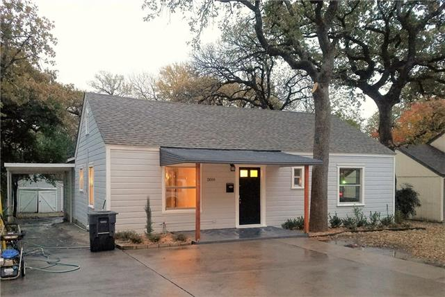 Photo of 2016 Balsam Street  Fort Worth  TX