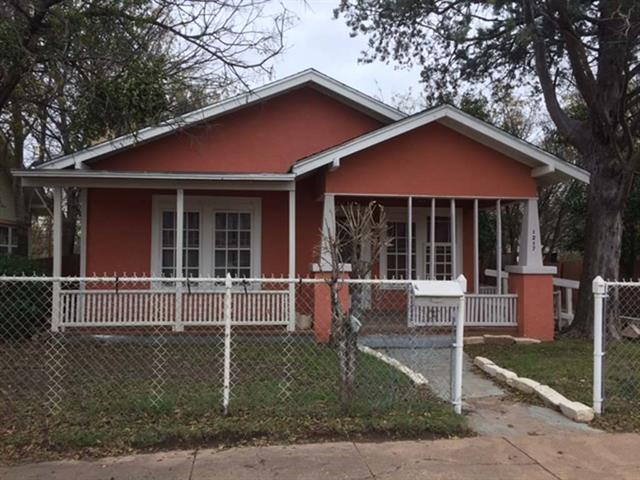 Photo of 1217 Chestnut Street  Abilene  TX