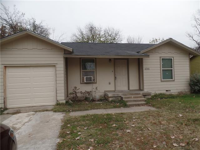 Photo of 4245 Lorin Avenue  Fort Worth  TX