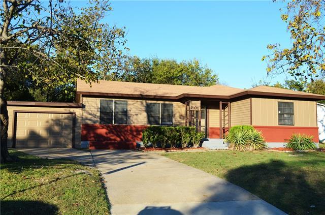 Photo of 2168 Evergreen Street  Garland  TX