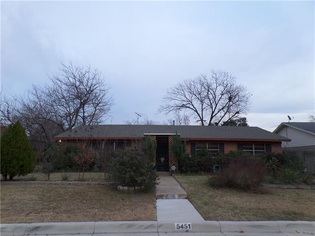 Photo of 5451 Rutland Avenue  Fort Worth  TX