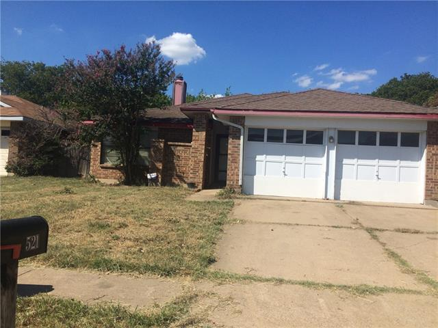 Photo of 521 Valley Spring Drive  Arlington  TX